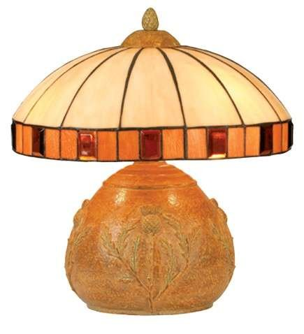 Meyda Tiffany Thistle Table Lamp