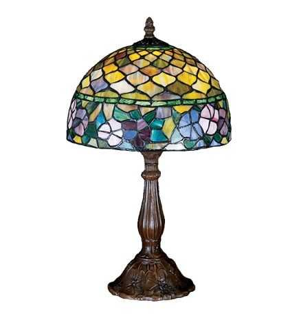 Meyda Tiffany Fishscale Dogwood Accent Lamp