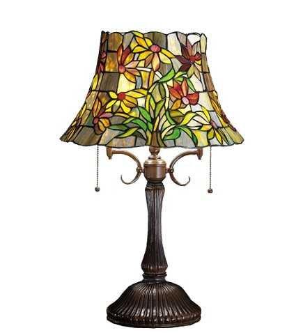 Meyda Tiffany Black Eyed Susan Table Lamp