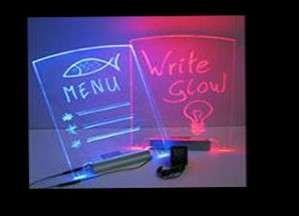 Write-Glow Message Board