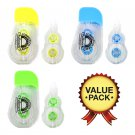 Fullmark Model G Refillable Correction Tape - 3+3 pack (5mm x 10m each)