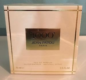 1000 by Jean Patou Eau De Parfum 2.5 Oz 75 Ml New
