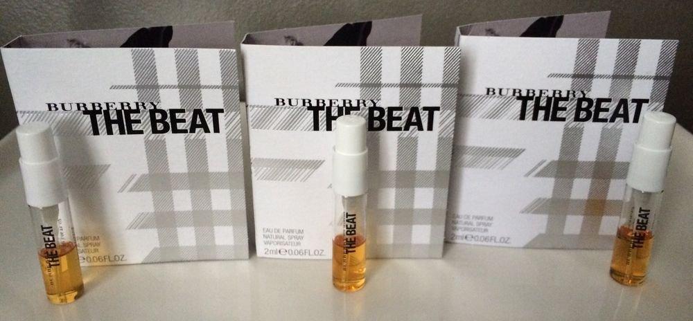 Burberry THE BEAT Set Of 3 Vials Eau De Parfum 2ml Each