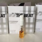 Burberry THE BEAT Set Of 3 Vials Eau De Parfum 2ml Each
