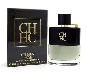 Carolina Herrera CH MEN PRIVE Eau de Toilette 1.7 Oz, 50 ml, New