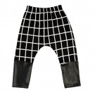 Kids Mini Check Monochrome Pants