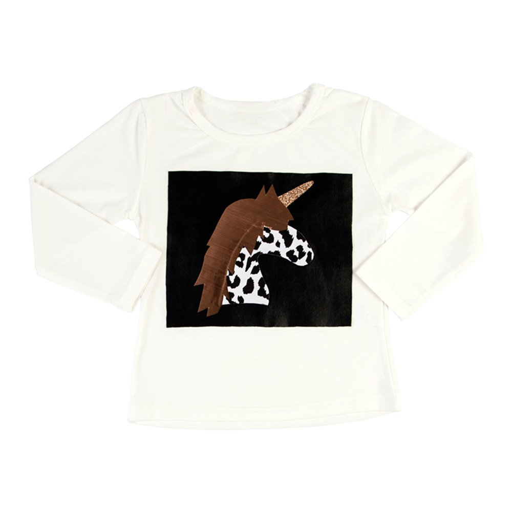 Unicorn Leopard Long Sleeve T-shirt