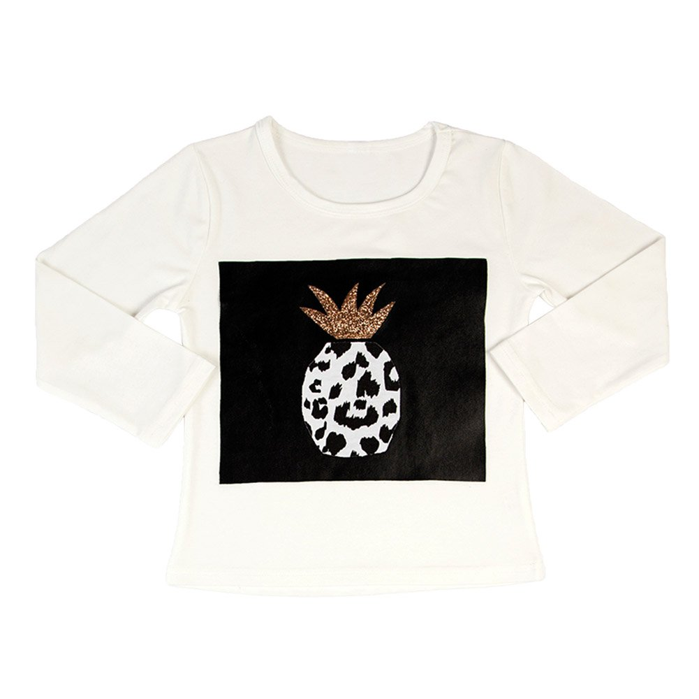 Pineapple Copper Long Sleeve T-shirt