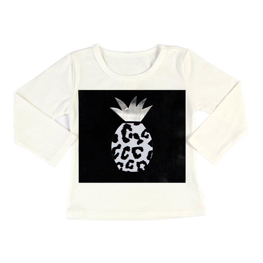 Pineapple Silver Long Sleeve T-shirt