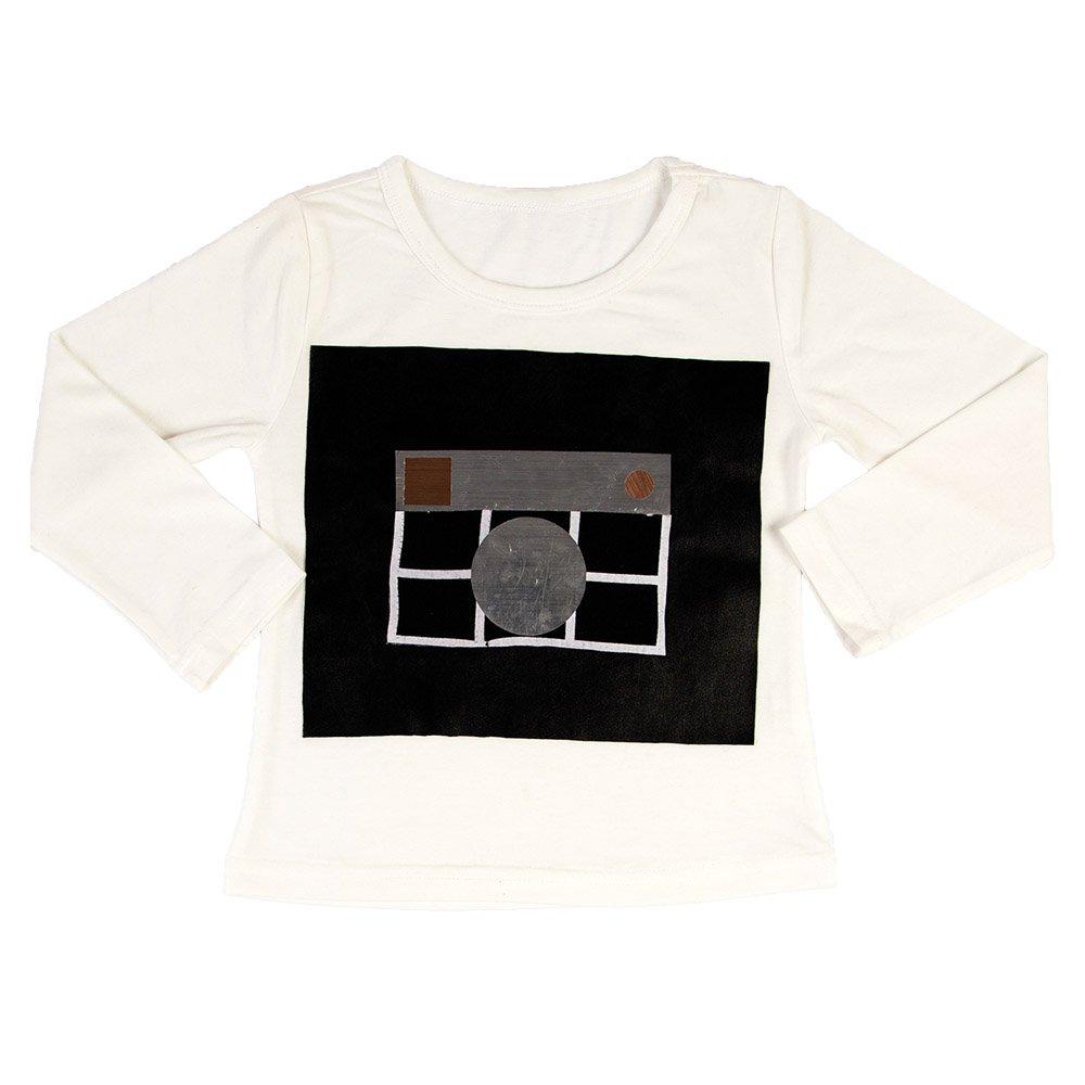 Instagram Silver Long Sleeve T-shirt