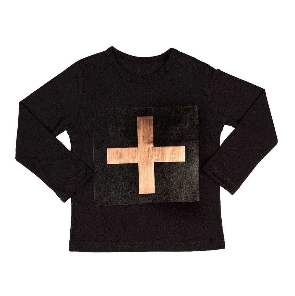 Cross Copper Long Sleeve T-shirt