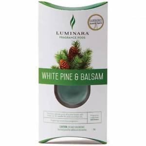 Lot of 4: Luminara® Fragrance Cartridges - White Pine and Balsam