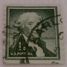 One Cent Green Washington Postage Stamp