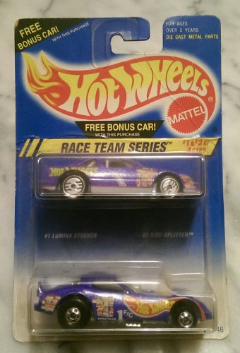 Hot Wheels Collectible, Race Team Series #1 & #3 of 4 Cars