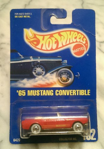 Hot Wheels Collectible, '65 Mustang Convertible, #162