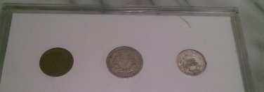 1912 Penny Nickle Dime Set