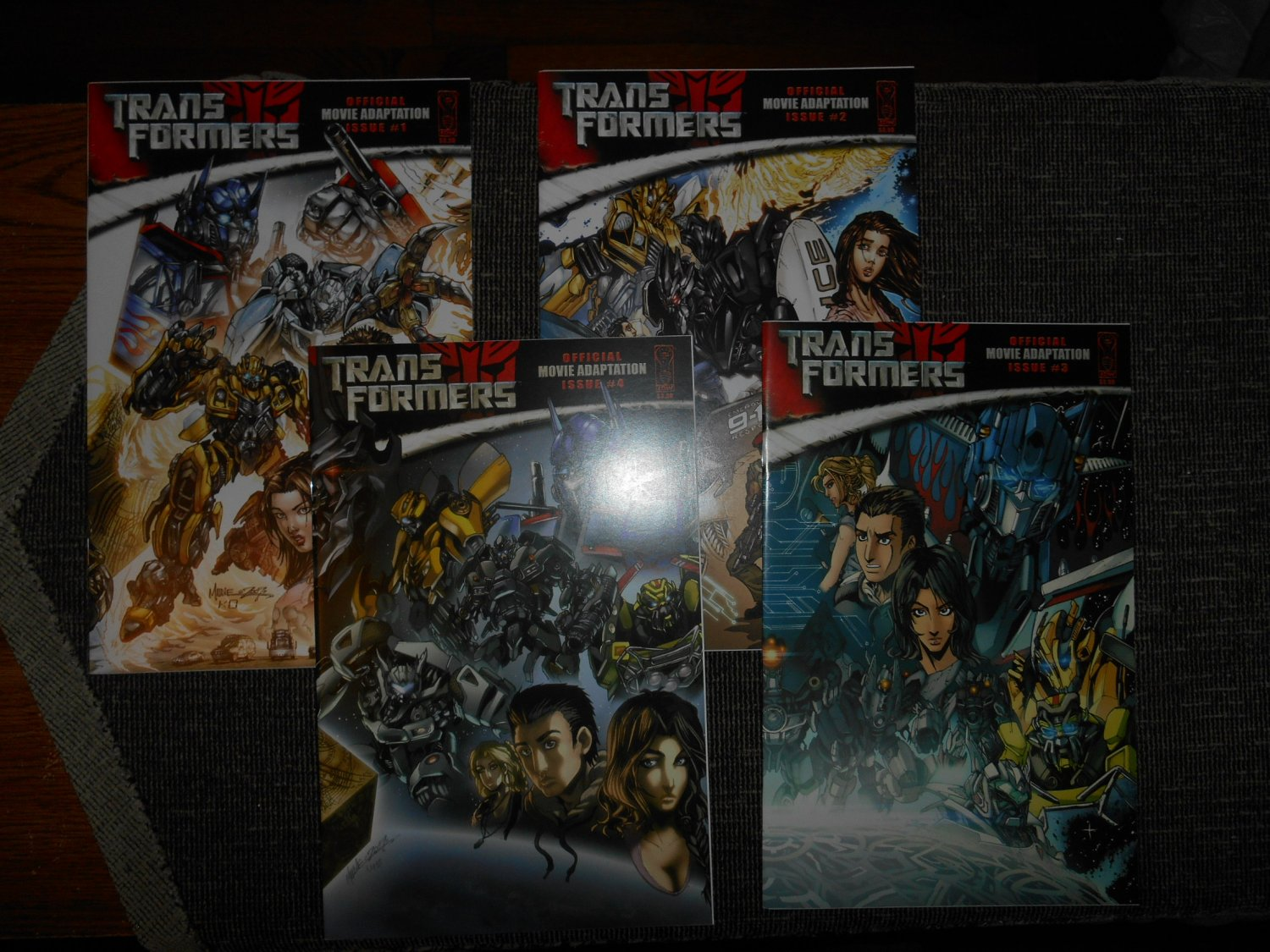 2006 Transformers Comic Movie Adaptation - Rare - Complete Series  - Very Fine -