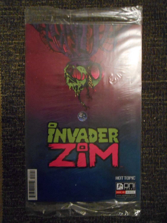 Invader Zim Comic � Issue 1- Jhonen Vasquez - Rare - Hot Topic Variant - Oni Press - New - Mint