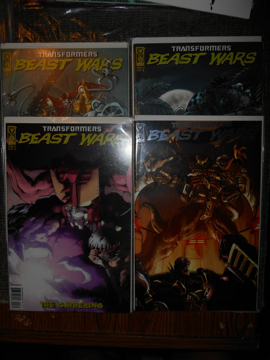 2006 Transformers Comic - Beast Wars The Gathering - Incentive - Complete Series - Fine -