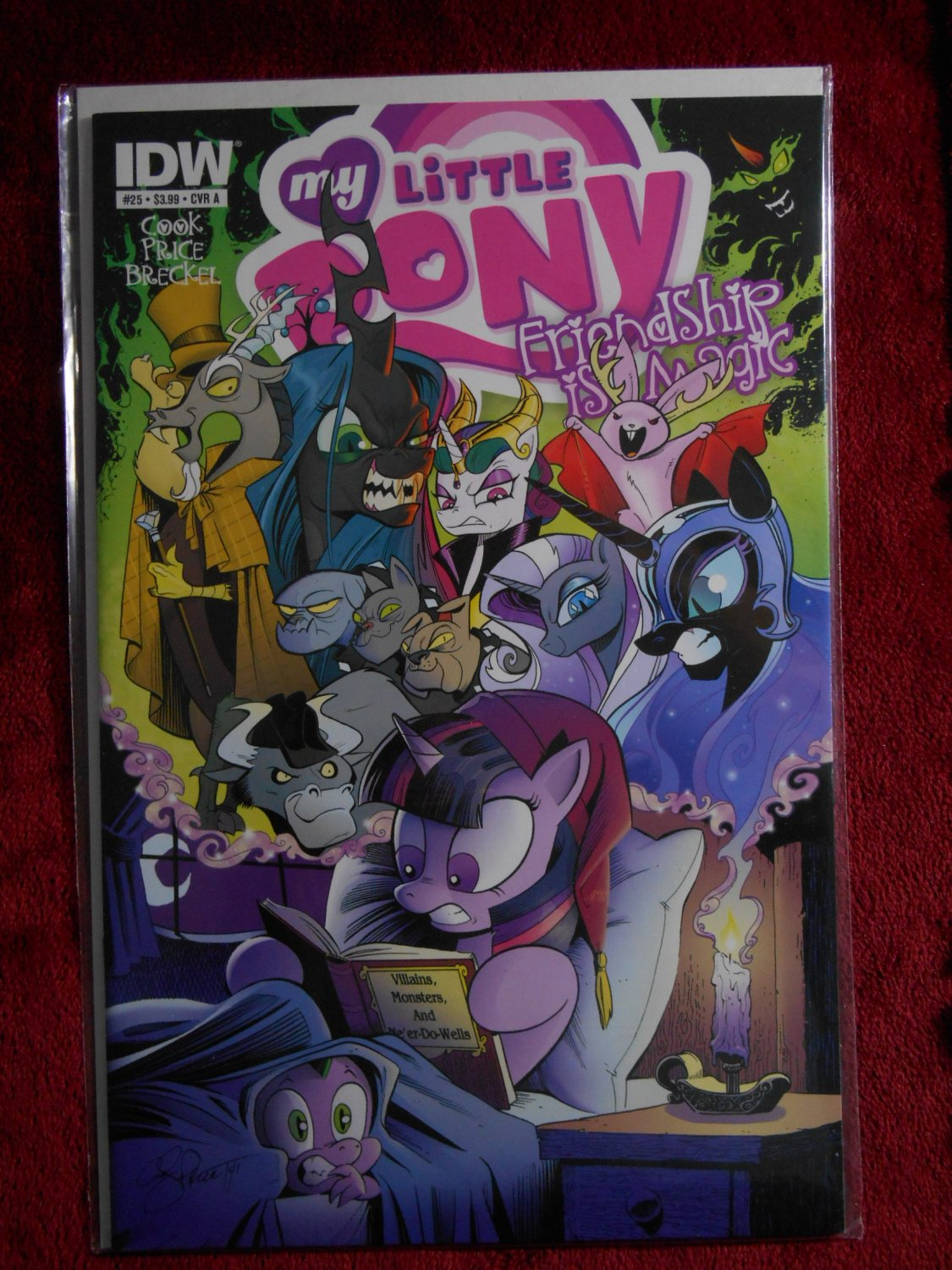 My Little Pony Friendship is Magic Comic - # 25 - Rare - IDW Comics - Very Fine -