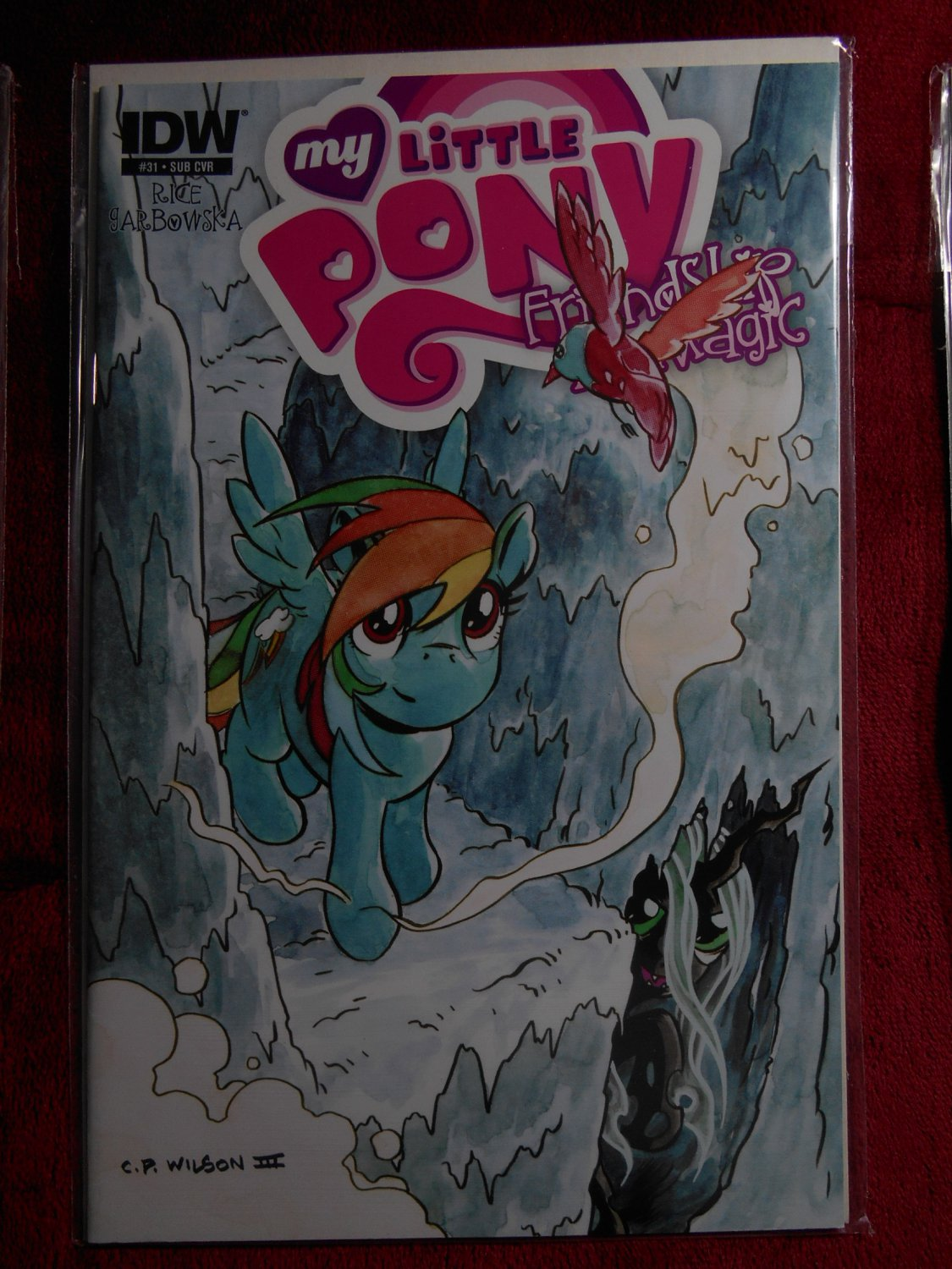 My Little Pony Friendship is Magic Comic - # 31 - Subscription Cover - IDW - Very Fine -