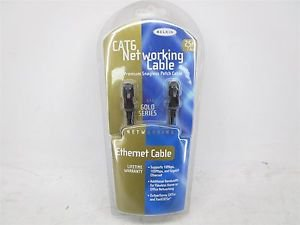 Belkin High Performance CAT6 Networking Cable, 25 FT, LIFETIME WARRANTY