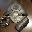 Polycom SoundStation2 Conference Phone w/ Power Module, TESTED, Expandable