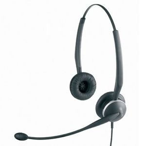 *NEW* GN Netcom GN2125-NC Noise Canceling Binaural Headset,Ships FREE