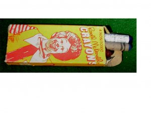 Box of McDonald Crayons