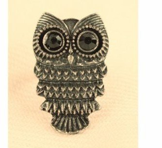 Owl Adjustable Ring