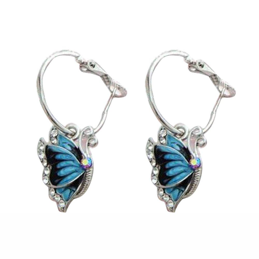 Butterfly Wing Dangle Earrings