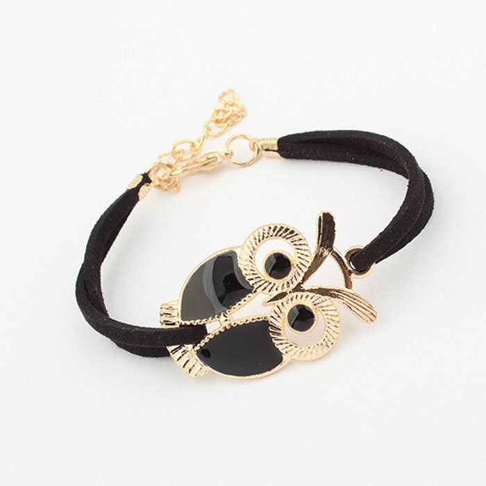 Black Owl Bracelet