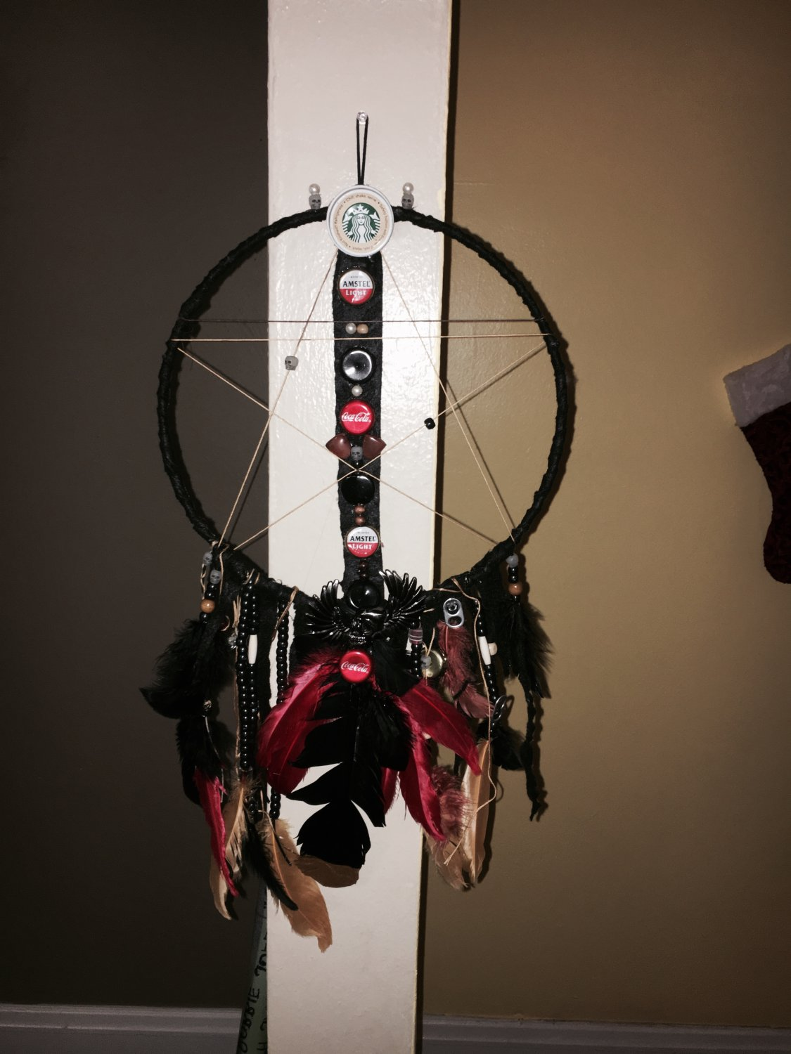 Large Grunge Dreamcatcher