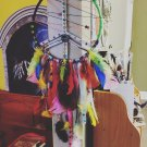 Large Rainbow Dreamcatcher