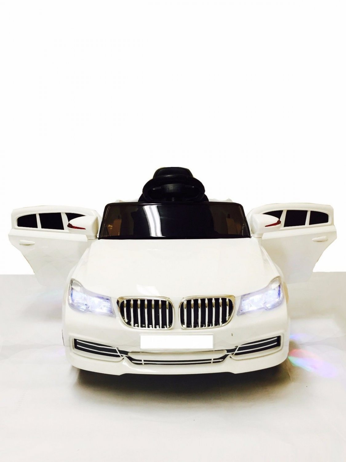 Ride On Car For Kids BMW with Remote Control | White