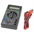 Digital Multimeter AC DC Voltmeter Ammeter Ohmmeter Volt Tester Meter XL-830L