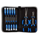 Precision Screwdriver & Mini Pliers Jewelers Repair Tool Kit Watch Eye Glasses