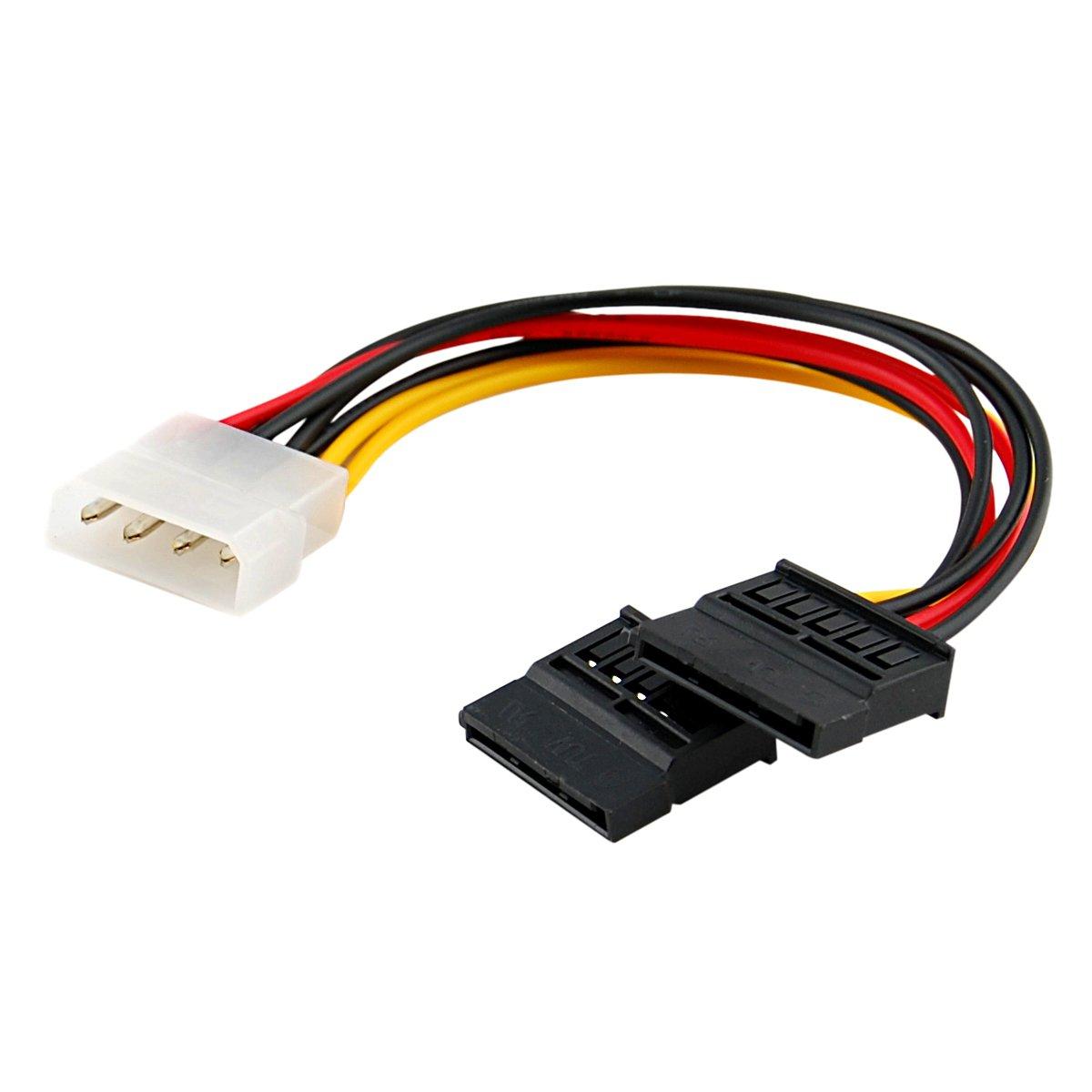 4 Pin Molex Power to Dual Serial ATA (SATA) Power Adapter