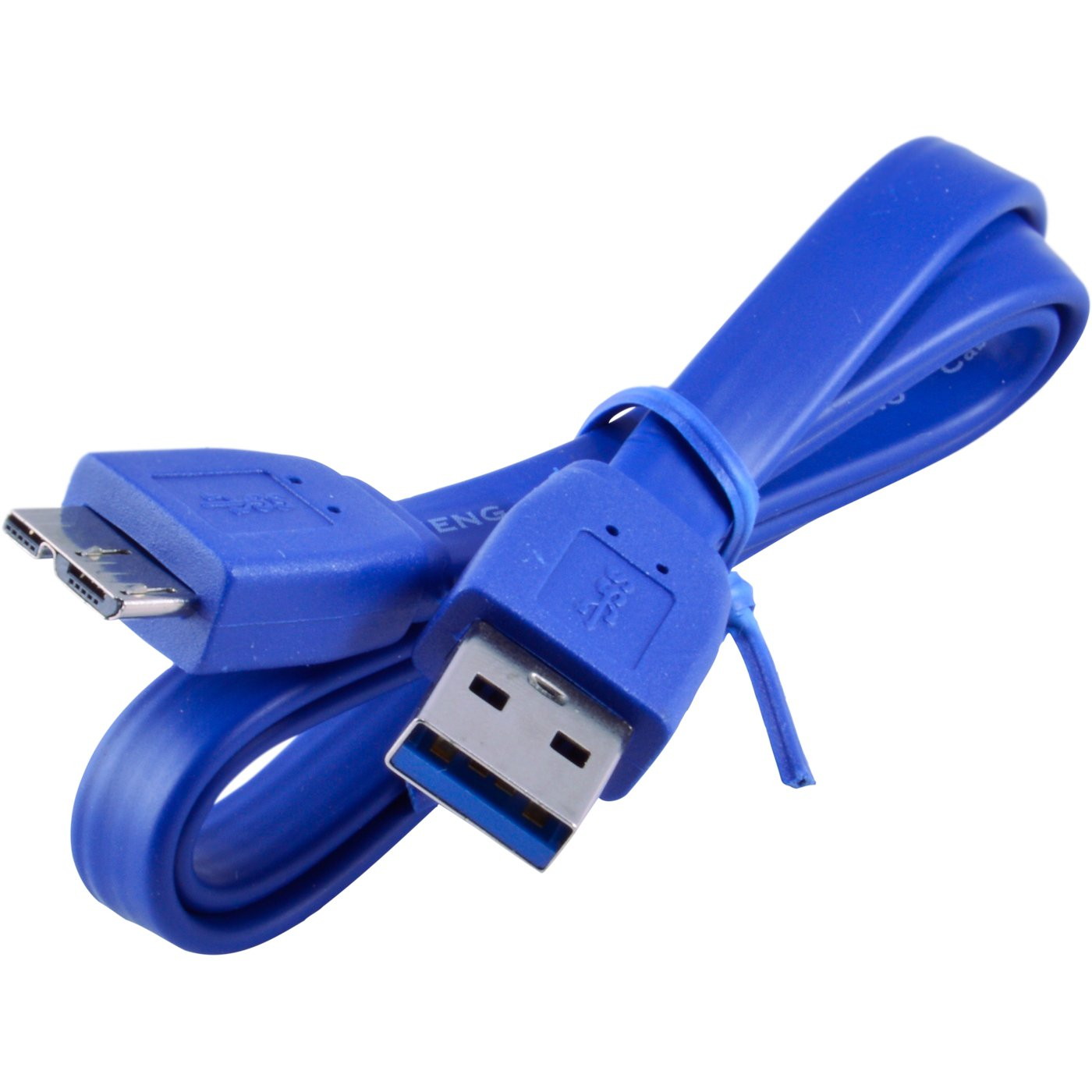 1FT Micro USB 3.0 Flat Cable for WD My Passport & My Book External Hard Drive
