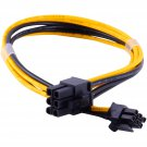 6-pin Mini to 2x 6-pin PCI-e PCIe Dual Power Cable for Apple Mac Pro Video Card