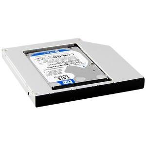 Second SATA Hard Drive Optical Bay Caddy for Levono Thinkpad T420 T520 W520