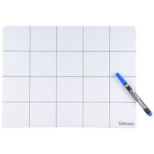 Delcast Magnetic Project Mat Anti Slip for Smart Phone Laptop Disassembly