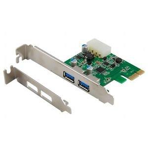 2-Port USB 3.0 PCI Express Controller Card (PCI-E)