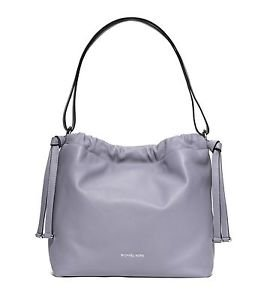 NWT MICHAEL KORS Angelina Large Leather Shoulder Purse Bag ~ Lilac