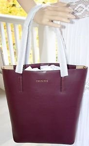 NWT Authentic Michael Kors Leather Emry Large North/South Convertible Tote