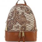 NWT~ AUTHENTIC Michael Kors STUDIO HERITAGE Paisley Rhea Medium  Backpack  $358