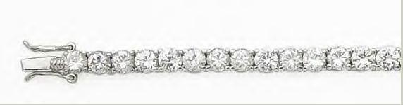 CZ Diamond Tennis Bracelet