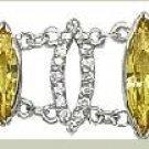 Yellow CZ Marquise Bracelet