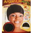 Magic Collection Organic Argan OIl Treated Spandex Dome Cap-3016BLA