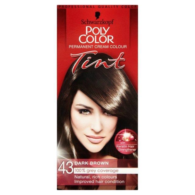 Schwarzkopf Poly Colour 43 Dark Brown